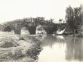 Pont sur le Sadjour (affluent de l'Euphrate) (auteur, Frère Raphaël, missionnaire capucin)